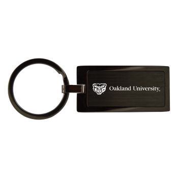 Oakland University-Black Frost Keychain