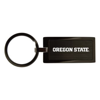 Oregon State University-Black Frost Keychain