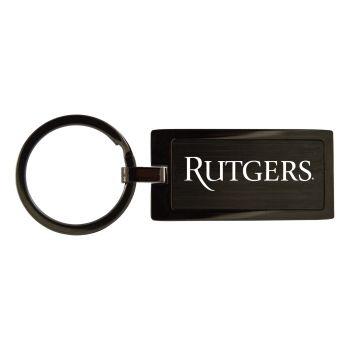 Rutgers University-Black Frost Keychain