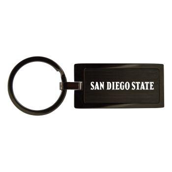 San Diego State University -Black Frost Keychain