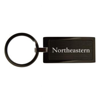 Northeastern University-Black Frost Keychain