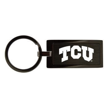 Texas Christian University-Black Frost Keychain