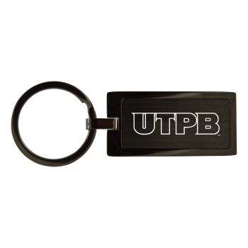 The University of Texas at The Permian Basin-Black Frost Keychain