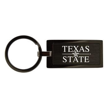 Texas State University-Black Frost Keychain