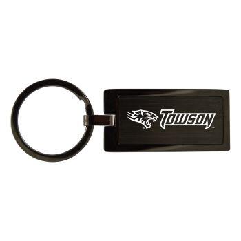 Towson University-Black Frost Keychain