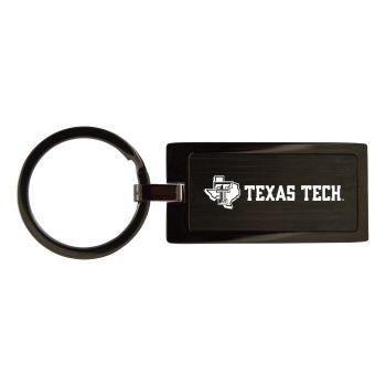Texas Tech University-Black Frost Keychain