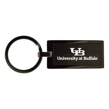University at Buffalo-The State University of New York-Black Frost Keychain