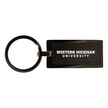 West Virginia University-Black Frost Keychain