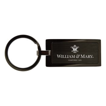 College of William & Mary-Black Frost Keychain