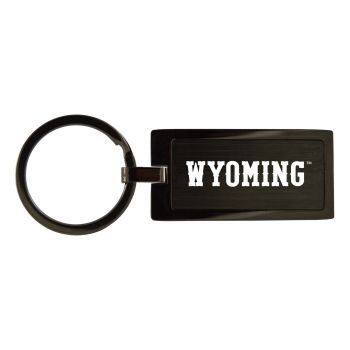 University of Wyoming-Black Frost Keychain