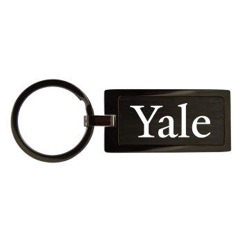Yale University-Black Frost Keychain