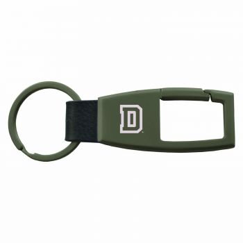 Dartmouth College-Carabiner Key Chain-Gunmetal