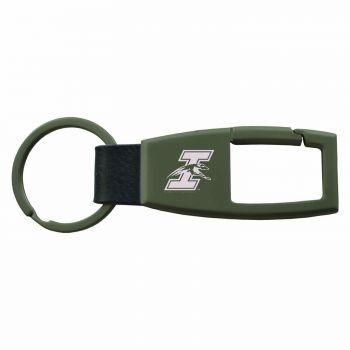 University of Indianapolis-Carabiner Key Chain-Gunmetal