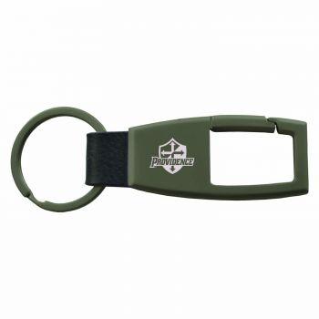 Providence College -Carabiner Key Chain-Gunmetal
