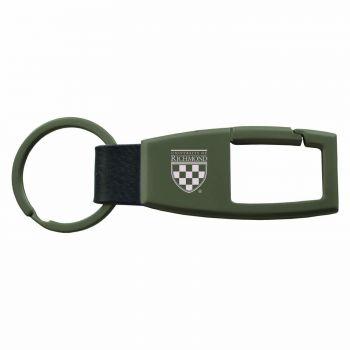 University of Richmond -Carabiner Key Chain-Gunmetal