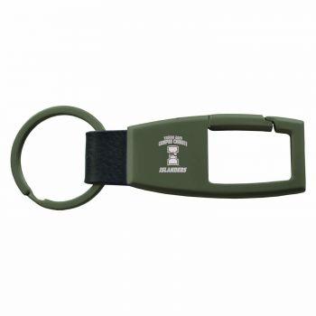 Texas A&M University-Corpus Christi-Carabiner Key Chain-Gunmetal