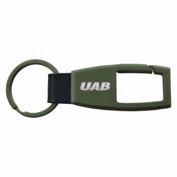 University of Alabama at Birmingham -Carabiner Key Chain-Gunmetal