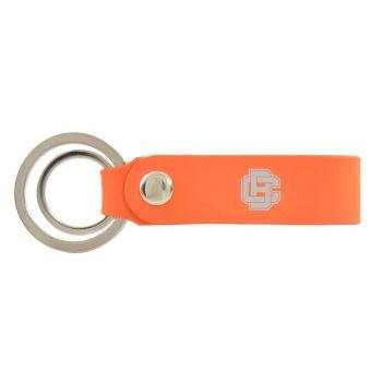 Bethune-Cookman University-Silicone Snap Key Chain-Orange