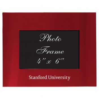 Stanford University - 4x6 Brushed Metal Picture Frame - CARD