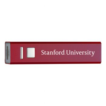 Stanford University - Portable Cell Phone 2600 mAh Power Bank Charger - Burgundy
