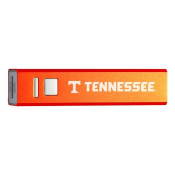 University of Tennessee - Portable Cell Phone Charger - 2600mAh Power Bank - Orange