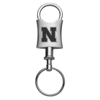 University of Nebraska??Lincoln-Trillium Valet Key Tag-Silver