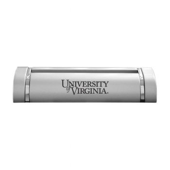 Rutgers University-Desk Business Card Holder -Silver