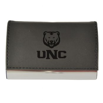 Velour Business Cardholder-University of Northern Colorado-BLK