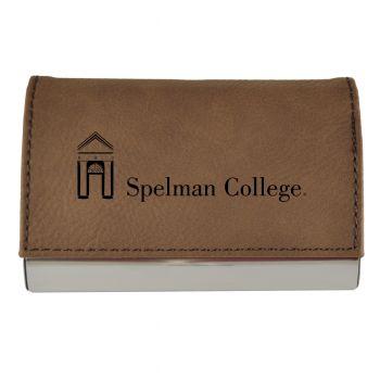Velour Business Cardholder-Spelman College-Brown