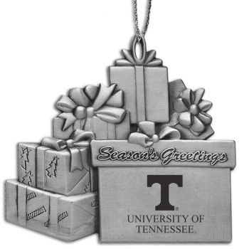 University of Tennessee - Pewter Gift Package Ornament