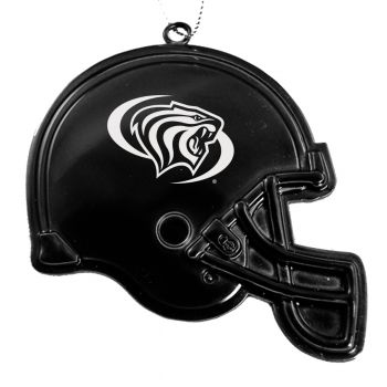 University of the Pacific - Chirstmas Holiday Football Helmet Ornament - Black