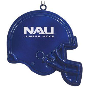 Northern Arizona University - Christmas Holiday Football Helmet Ornament - Blue