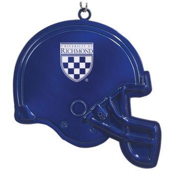 University of Richmond - Chirstmas Holiday Football Helmet Ornament - Blue