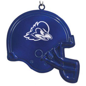 University of Delaware - Christmas Holiday Football Helmet Ornament - Blue