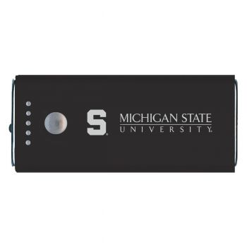 Michigan State University-Portable Cell Phone 5200 mAh Power Bank Charger -Black