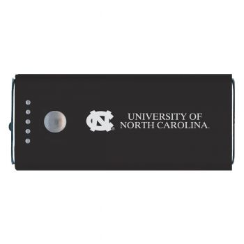 University of North Carolina-Portable Cell Phone 5200 mAh Power Bank Charger -Black