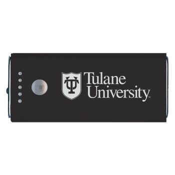 Tulane University -Portable Cell Phone 5200 mAh Power Bank Charger -Black