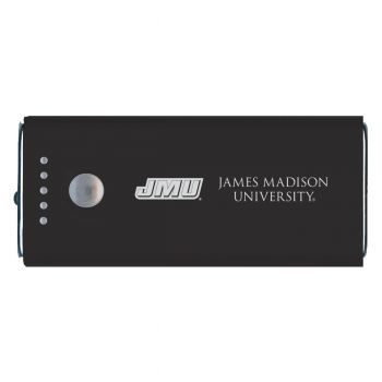 James Madison University-Portable Cell Phone 5200 mAh Power Bank Charger -Black