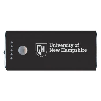 University of New Hampshire -Portable Cell Phone 5200 mAh Power Bank Charger -Black