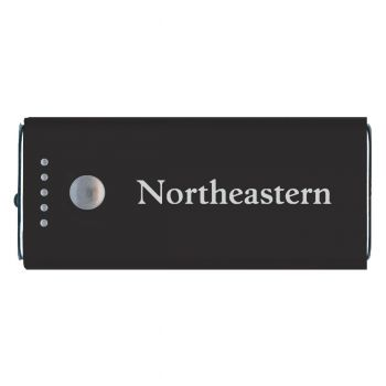 Northeastern University -Portable Cell Phone 5200 mAh Power Bank Charger -Black