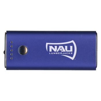 Northern Arizona University -Portable Cell Phone 5200 mAh Power Bank Charger -Blue