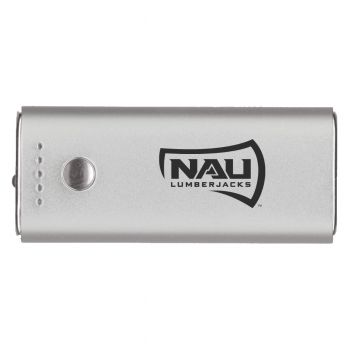 Northern Arizona University -Portable Cell Phone 5200 mAh Power Bank Charger -Silver