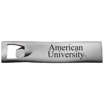 American University-Pocket Bottle Opener