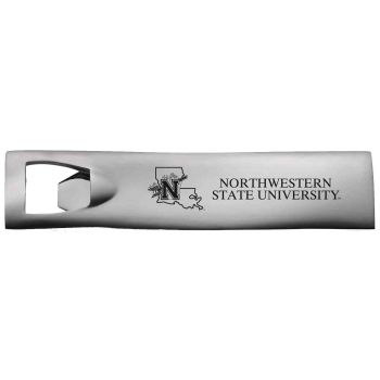 Northwestern State University-Pocket Bottle Opener