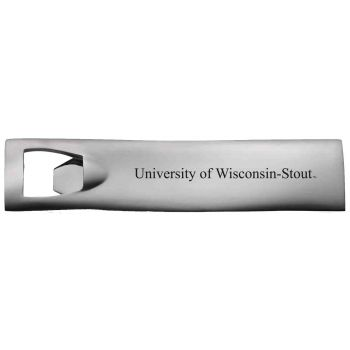 University of Wisconsin-Stout-Pocket Bottle Opener