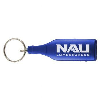 Northern Arizona University -Wine Shaped Bottle Opener-Blue