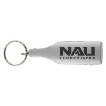 Northern Arizona University -Wine Shaped Bottle Opener-Silver