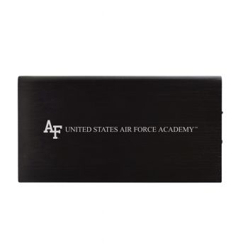 8000 mAh Portable Cell Phone Charger-Air Force Falcons -Black