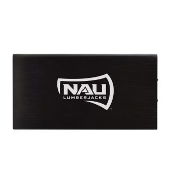 8000 mAh Portable Cell Phone Charger-Northern Arizona University -Black