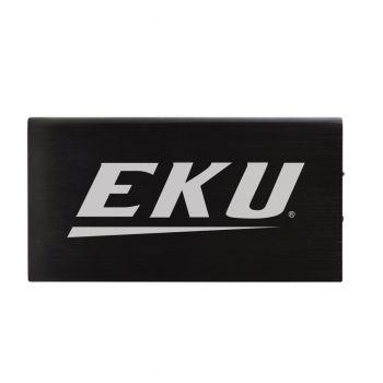 8000 mAh Portable Cell Phone Charger-Eastern Kentucky University -Black